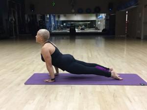 Yoga instructor Roz Adams of www.rozfitness.com